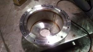 機械加工+TIG溶接の製缶