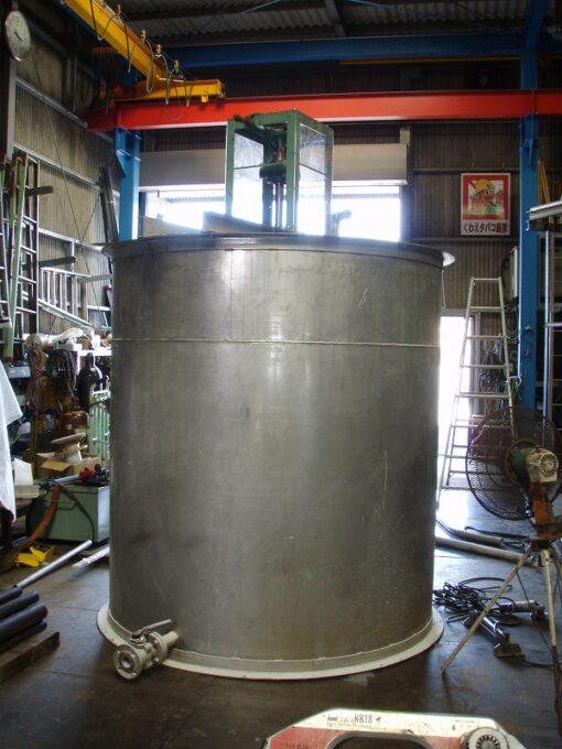 ステンレス製のタンクの製缶・溶接・修理