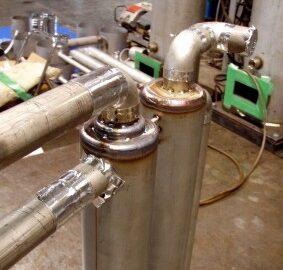 配管の裏波溶接